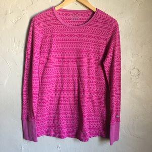 Columbia long Sleeve Pink Sz L